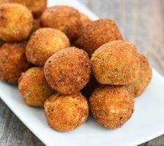 Fried Mashed Potato Balls   Kirbie's Cravings   A San Diego food blog