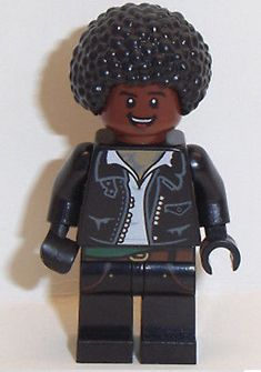 Lego Male Minifigure x 1 Leather Jacket with Red Brown Face & Black Afro Hair Black Hair Afro, Afro Hairstyles, Black Panther, Leather Jacket, Toys, Brown, Face, Lego Lego, Red