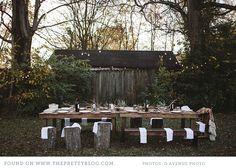 outdoor thanksgiving entertaining autumn 0222 Baby Its Cold Outside {Entertaining} #SunsetTurkeyDay