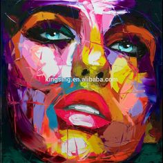 Modern meaningful pictures abstract canvas painting ideas