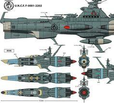 Spaceship Art, Spaceship Design, Yamato Battleship, Cyberpunk, Sci Fi City, Sci Fi Spaceships, Capital Ship, Space Battles, Sci Fi Ships