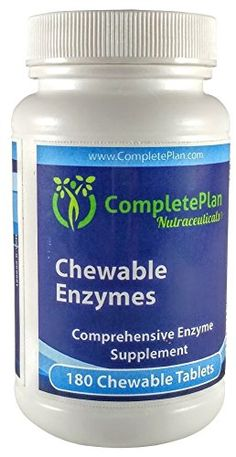 Chewable Enzymes for Digestive Enzyme Therapy CompletePla... https://www.amazon.com/dp/B01GCVJI4Y/ref=cm_sw_r_pi_dp_x_LNpBybMW3MQRV