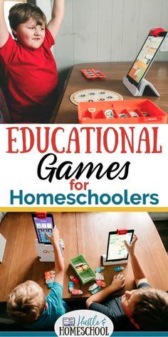 Educational Games for homeschooling, fun games for kids, educational games for kids, Osmo genius kit, Osmo review, osmo games, osmo coding, coding for kids
