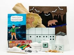 Caves and Caverns for Montessori learning delivered to your door! Don't spend time researching and planning lessons. Just have fun teaching your kids!
