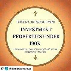 INVESTMENT PROPERTIES UNDER 190K | 2 BR/ 1BA -- Property has a ROI of 5 % to 8% plus very low HOA fees low vacancy rate and a very convenient location within minutes from downtown financial district and Miami Dade College. This is an amazing investment opportunity you can't let go away! --  PROPIEDADES PARA INVERTIR POR MENOS DE 190K| 2 BR/ 1BA| Está propiedad tiene un retorno de inversión calculado entre un 5% a 8%.Adicionalmente tiene muy bajos costos de mantenimiento bajas tasas de…