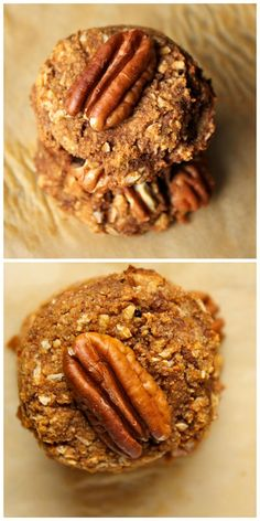 Leftover Sweet Potato Casserole Cookies