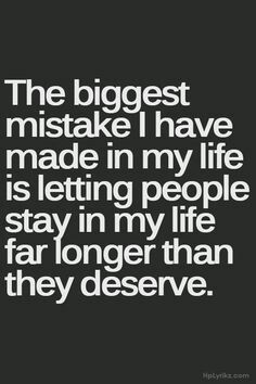 I've made that mistake more than once