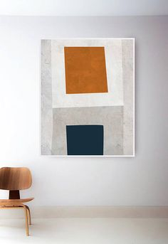 52 Inspiring Canvas Wall Art Decor to Make Your Living Room Look Amazing Diy Wall Art, Large Wall Art, Canvas Wall Art, Mid Century Modern Art, Modern Art Prints, Minimalist Art, Geometric Art, Art Decor, Home Decor