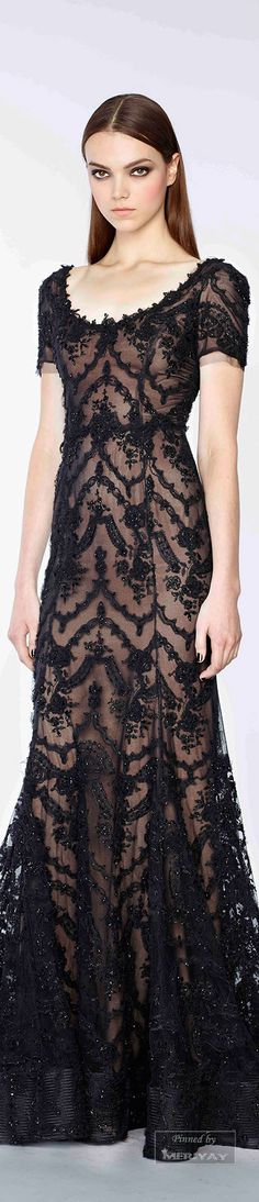 Marchesa.Pre-Fall 2015 saved from style.com - Wendy Schultz - Party + Formal Gowns.