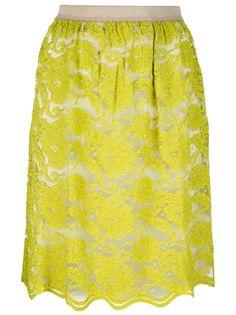 Erika Cavallini Semi Couture Lace Skirt