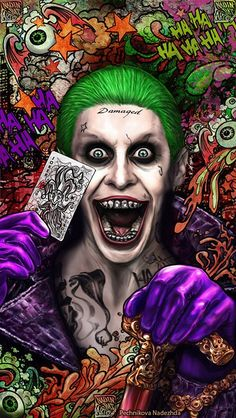 จัง Joker Cartoon, Joker Batman, Cartoon Art, Harley And Joker Love, Harley Quinn Comic, Joker Photos, Joker Images, Joker Iphone Wallpaper, Joker Wallpapers