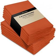 This Cotton Dinner Napkins Orange is from Utopia Kitchen and are a stylish way to save the environment and make your kitchen or dining room look wonderful. Resistant to stains and wrinkles, these napkins can be used every day or saved for your special occasions. Find out more by clicking the following link: http://buycottononline.com/index.php/cotton-shop/