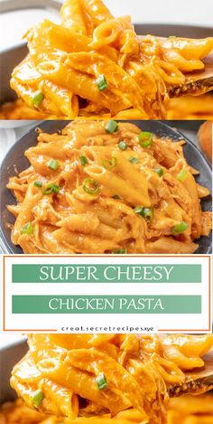 SUPER CHEESY CHICKEN PASTA | Creator Recipes #chicken #chickenrecipes #recipes #recipeoftheday #healthy #chickenfoodrecipes #chickens #chickenwings #mozzarella #melted