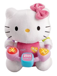 Hello Kitty Musical Beads by Vtech Baby Soft fabric Hello Kitty with easy  to grab plastic 18ab825dc939a
