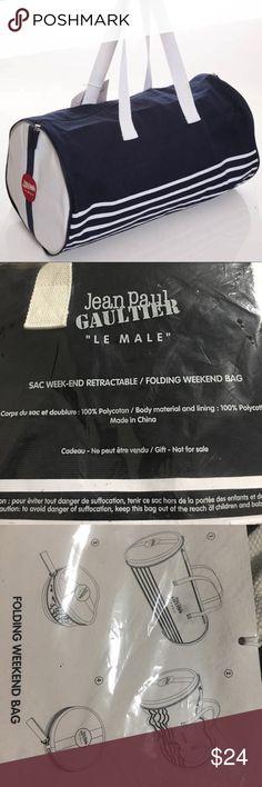 Jean Paul Gaultier Folding Duffle Folding weekend bag Jean Paul Gaultier Bags Travel Bags