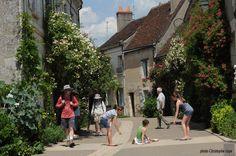Chédigny, village jardin d'Indre et Loire, est le seul village de France classée Jardin Remarquable