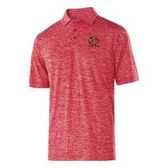 Men's Maryland Terrapins Electrify Performance Polo, Size: Medium, Med Red