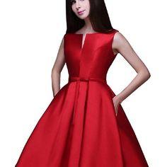 Vestidos rojos largos de fiesta 2019