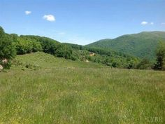 Horse Property for Sale in Amherst County in Virginia. Mostly open and gently rolling. Nice pond, several streams and creeks. A mile of road frontage on Rt 60 and approximately 1,000 feet on Rt 643 (Kenmore Road). 360 degree mountain views. Entire property is fenced.