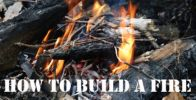 3 Steps to Building a Fire