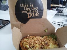 Chicken of Aragon pie with sides of mash, mushy peas, cheese, gravy & shallots for £7.50 @ Pieminister, 91 Leather Lane, London, EC1N 7TS
