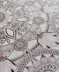 'A Grain of Sand Magnified' South African artist Lize Beekman Mandala art. South African Artists, Grain Of Sand, Zentangles, Mandala Art, Tangled, All The Colors, Oc, Paradise, Watercolor