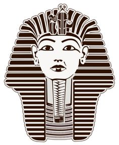 Black & White King Tut
