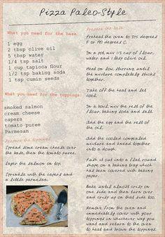 Paleo Pizza Recipe