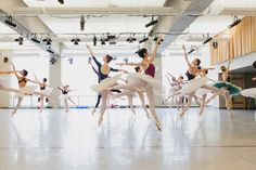 The Sleeping Beauty has been staged throughout the world and has become a standard of excellence in the classical ballet repertoire. Artists of the Ballet in rehearsal for The Sleeping Beauty. Photo by Karolina Kuras.