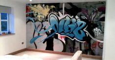 Teenage Boys Room Graffiti Interiors Pinterest
