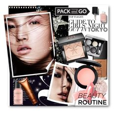 """""""#Pack and Go Tokyo Beauty Routine"""" by nikkisg ❤ liked on Polyvore featuring beauty, Chanel, NARS Cosmetics, Givenchy, MAC Cosmetics, Elizabeth Arden, Perricone MD, Clarins, tokyo and Packandgo"""