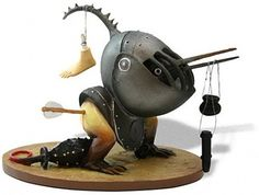 Hieronymous Bosch Figurines: Collect Surreal Characters from Bosch's Paintings & Put Them on Your Bookshelf | Open Culture