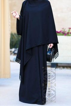 A Cover Up Abaya www.annahariri.com Dubai style abaya, online hijab store