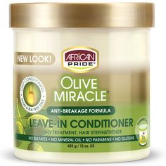 Leave In Conditioner, Hair Conditioner, Olive Miracle, Hair Milk, Brittle Hair, Olive Fruit, Moisturize Hair, Strong Hair