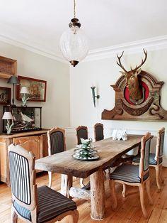 Una+casa+rústica+con+toques+vintage
