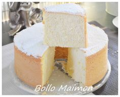 Bollo maimon Spanish Desserts, Spanish Dishes, Spanish Recipes, Spanish Food, Dessert Blog, My Dessert, Japanese Cheesecake, Different Cakes, Cheat Meal