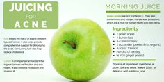 Juicing for ACNE