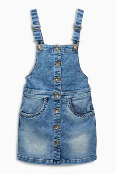 Buy Light Blue Denim Pinafore (3-16yrs) online today at Next: Portugal