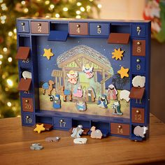 This Kurt Adler Wooden Nativity Advent Calendar with 24 Magnetic Figures, for only $45.05 shipped, is a wonderful way to count down to Christmas!  #ExtremeCouponing #Coupons #Couponing  Visit us at http://www.thecouponingcouple.com for more great posts!