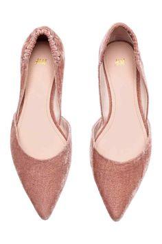 Ballerine a punta - Rosa vintage - DONNA | H&M IT