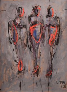 Mystical Impressions-20 by Gaston Carrio. Painting/Acrylic. Saatchi Online.