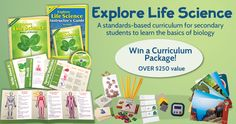 Win a NEW Special Ed. Science Curriculum: Explore Life Science