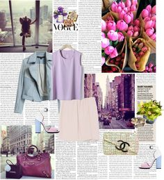 """Too pretty to work ;)"" by rikka-alethea ❤ liked on Polyvore"