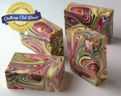 Spinning Swirl Soap by Claudia Carpenter
