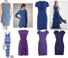 """Soft Autumn Blues"" by christinems on Polyvore"