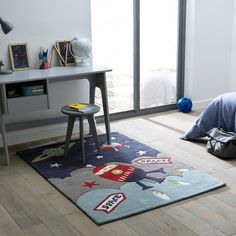 Tapete estrela para criança, tuft de algodão, 2 tamanhos, milo La Redoute Interieurs | La Redoute