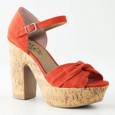 Mudd Peep-Toe Platform High Heels - My Happy Birthday Shoes! (One pair at least!)