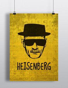 Poster+decorativo+com+tema+Heisenberg+-+Breaking+Bad++++>+Impressão+digital+de+alta+qualidade+em+papel+couche+fosco+180g++>+Tamanho+padrão+=+A3+(30+x+42cm).++>+Possibilidade+de+impressão+em+outros+formatos+e+outros+papéis+(consulte+preço).++>+Não+acompanha+moldura++>+Enviado+em+tubo+postal,+pelo+Correio. R$ 27,00