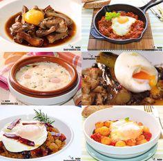 Huevos a la plancha, al horno, escalfados, poché