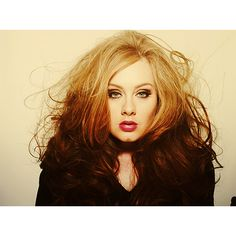 Adele is a beautiful woman